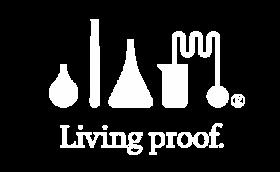 Living Proof white logo